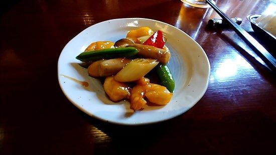 Chinese Restaurant Koromu: ランチコース(炒め物)