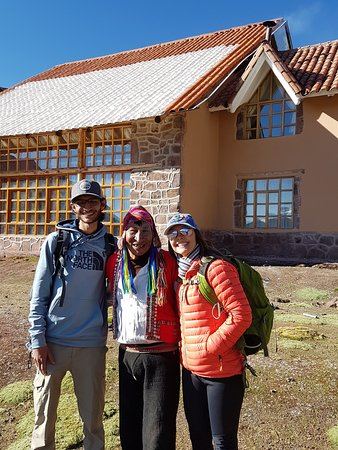Andean Lodges: Com nosso amigo Mário, guardião do último Lodge!!!