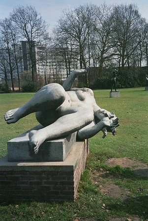 Middelheim Museum: Antwerp, Middelheim sculpture park, The River by Aristide Maillol