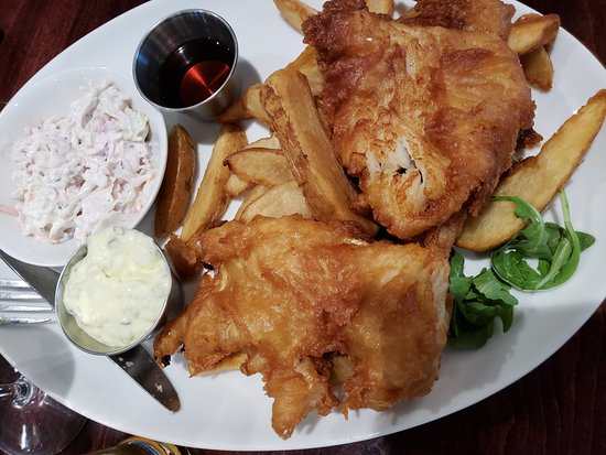 Bedford, NH: Fish and Chips
