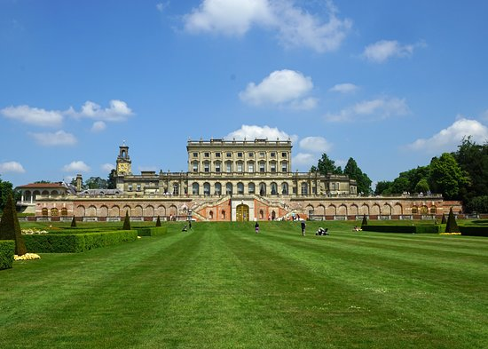 National Trust Cliveden: View from parterre