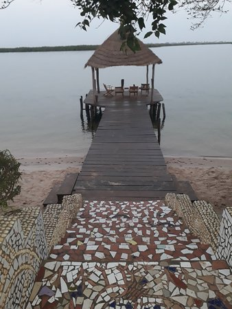 Mar Lodj, Senegal: A peaceful place to sit and rest