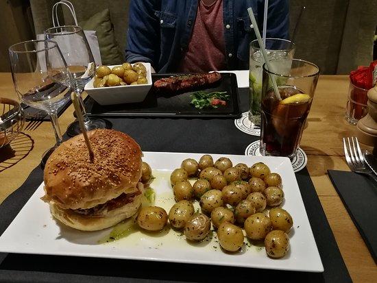 Le Paris Montparnasse: Burger + Brazilianisches Steak mit Babykartoffeln