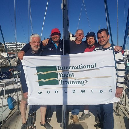 Los Gigantes, Spagna: well done to our IYT Instructors!