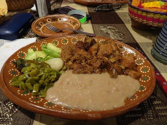 El Quelite, المكسيك: fried pork chunks