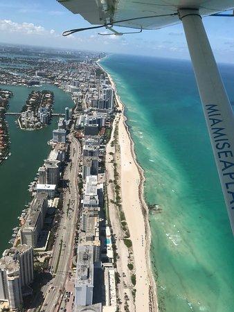Seaplane Tour of Miami: Vue du ciel