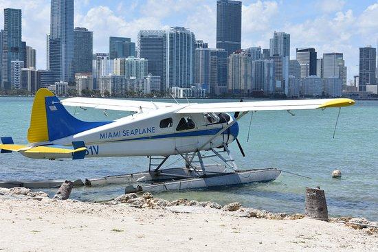 Seaplane Tour of Miami: Avion vieillissant