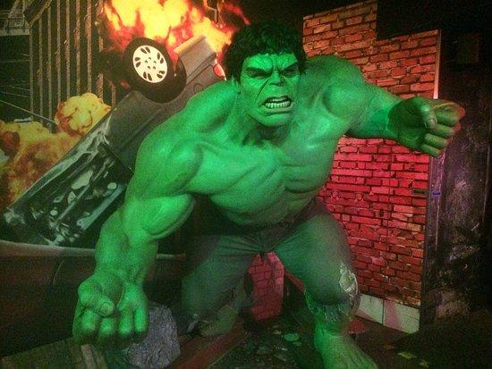 Madame Tussauds Amsterdam: Hulk