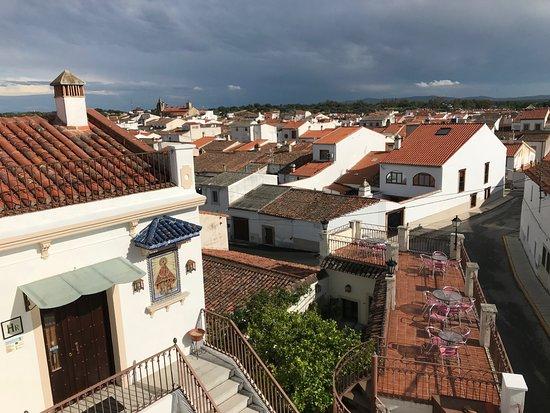 Hotel Rural Restaurante Villa Matilde: Vista panoramica desde la terraz.