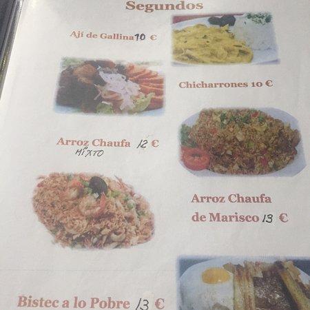 Bar Restaurante Delicias Peruanas: Comida muy rica, atienden rápido y platos grandes
