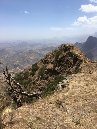 Debark, Etiópia: Walk on the edge