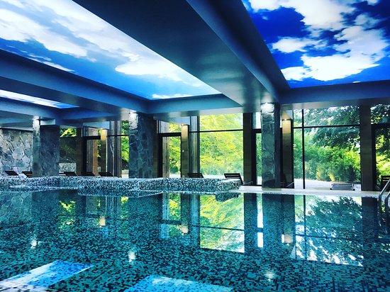 Rilski Manastir, Bulgária: Swimming pool