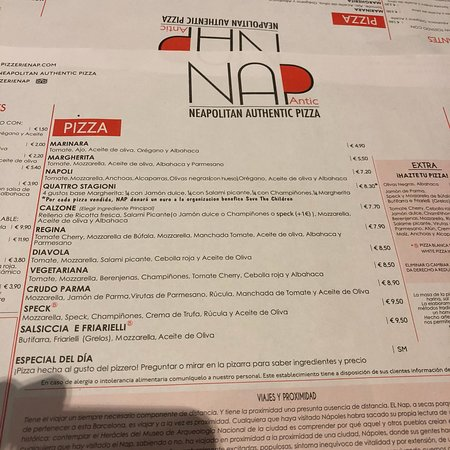 Bilde fra N.A.P. Neapolitan Authentic Pizza