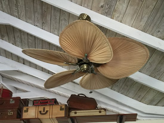 Old Style Caribbean Ceiling Fans