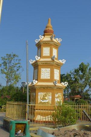 My Tho, Vietnam: small Pagoda