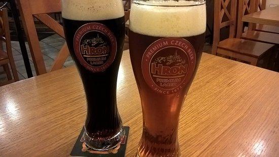 U Skretu: Пиво(в бокалах другой пивоварни))))