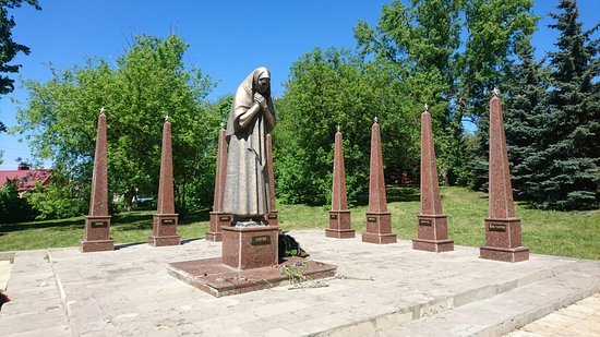 Monument to Mother Mariya Frolova