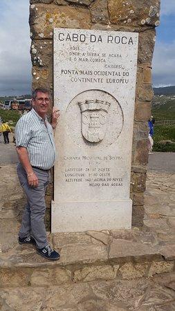 Cabo da Roca: La stele.