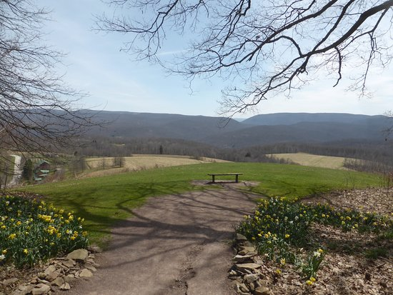Chalk Hill, Pensilvania: view