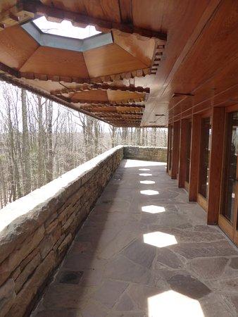 Chalk Hill, Pensilvania: terrace