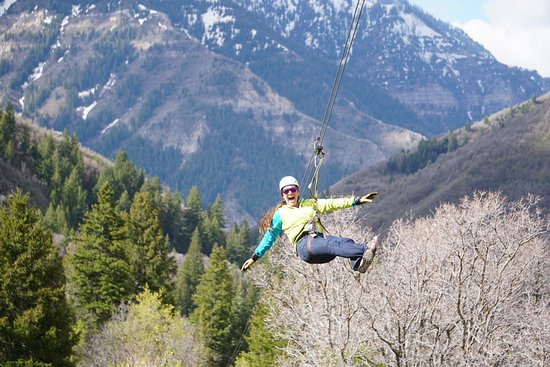 Provo, UT: Don't forget to soak in the canyon views as you soar through the sky!