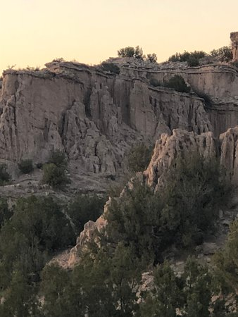 Ojo Caliente, NM: Some of the beautiful rock formations