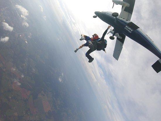 Cedartown, GA: Great feeling falling from 14,000 feets
