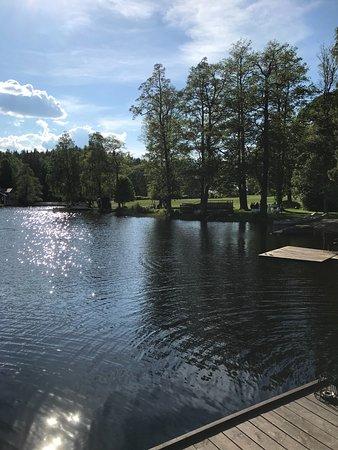 Filipstad, Sverige: Bild tagen från badbryggan