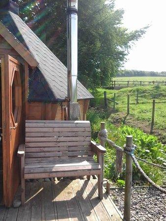 Newcastleton, UK: Glamping cabin