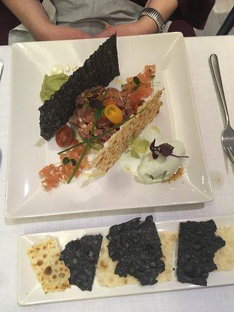 Bistro & Restaurant El Arca: Tartar de atún rojo