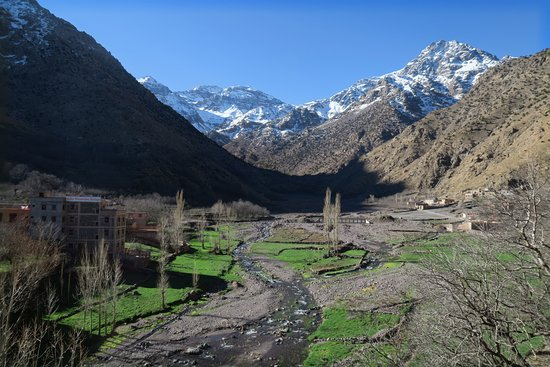 Day tour in high Atlas mountains: The view from the accommodation provided by Mohammed in his home village, Around