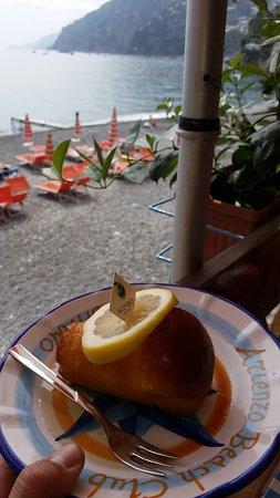 Babà al limoncello - Picture of Bagni d\'Arienzo, Positano - TripAdvisor