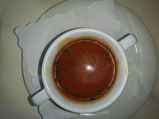 """Kerpen, Germany: Tagessuppe """"Tomatencreme"""""""