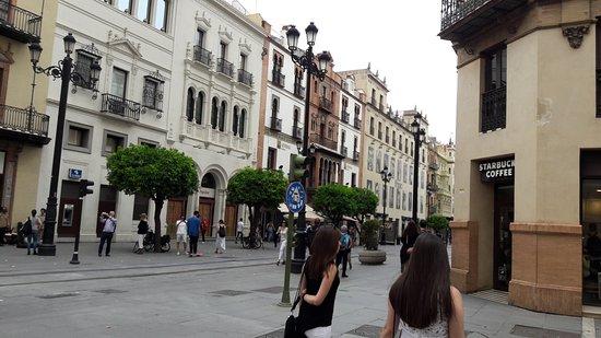 Centro Historico de Sevilla: strada