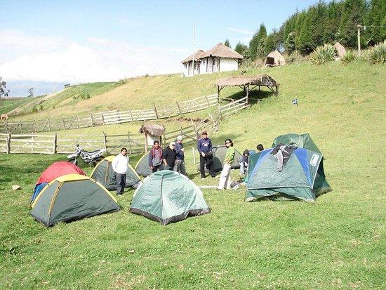 Pillaro, Ekwador: Zona de camping