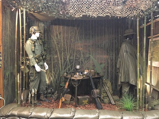 Brevard, NC: A display from the Vietnam War, WNC Military History Museum