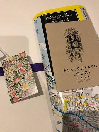 Blackheath Lodge: Welcome packet