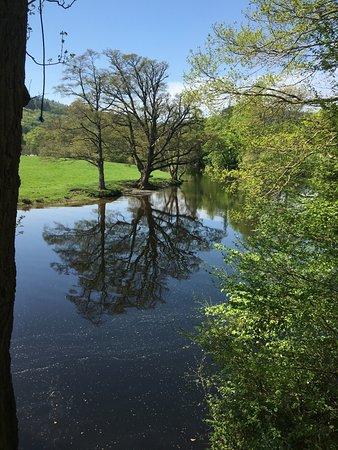 Llangollen and the Horseshoe Falls: The Falls