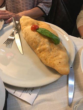 Legnago, Italia: La pizza fritta