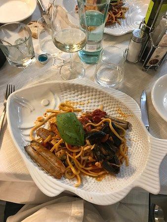 Legnago, Italia: Scialatielli allo scoglio