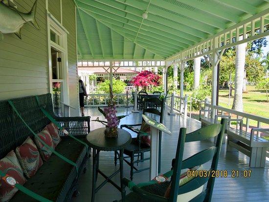 Edison and Ford Winter Estates: Porch