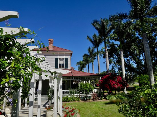 Edison and Ford Winter Estates: Garten