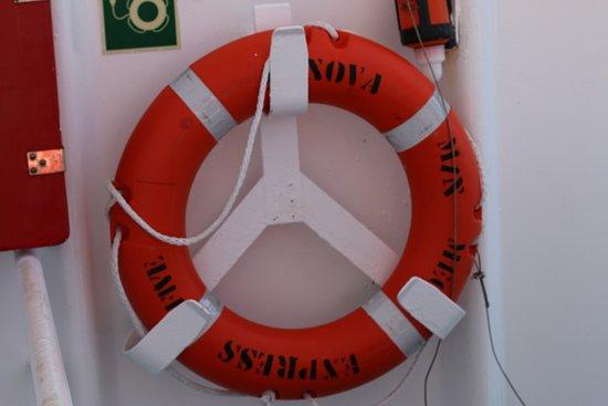 Corsica Ferries: Vue du bateau