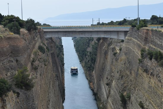 Korinthos Taxi Transfers: Il canale