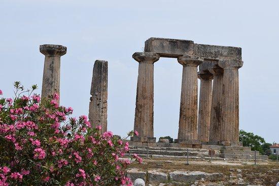 Korinthos Taxi Transfers: Il tempio di APOLLO