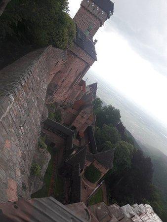 Chateau du Haut Koenigsbourg ภาพถ่าย
