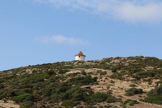 Centuri, France: Vue du moulin Mattei