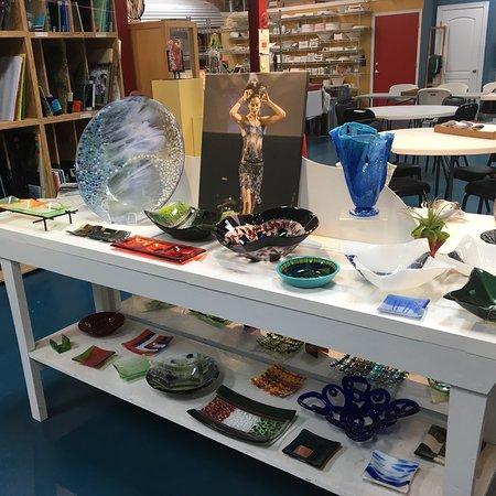The Glass Palette - Interactive Glass Art Studio Φωτογραφία