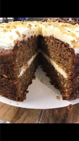 West Sussex, UK: Carrot Cake (Gluten Free)