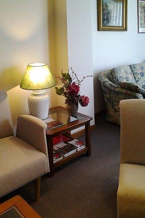 Hotel Pasaje: The reading room